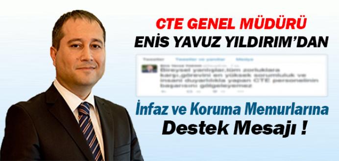 CTE Genel Müdürü Enis Yavuz Yıldırım'dan İKM'lere Destek Mesajı !