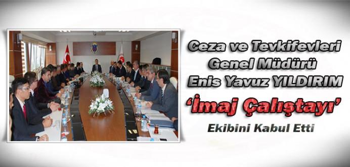CTE Genel Müdürü Enis Yavuz Yıldırım İmaj Çalıştayı Ekibini Kabul Etti.