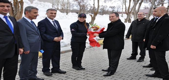 CTE Genel Müdürü Enis Yavuz YILDIRIMın Bitlisteki Ceza İnfaz Kurumlarını Ziyareti...