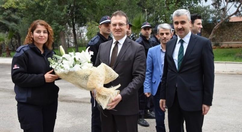 CTE Genel Müdürü Şaban Yılmaz Antalya E Tipi Kapalı ve Açık Ceza İnfaz Kurumunu Ziyaret Etti