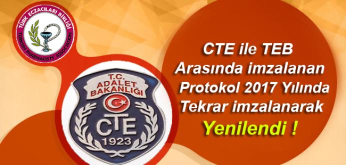 CTE ile TEB ( Türk Eczacılar Birliği ) Arasındaki Protokol Yenilendi