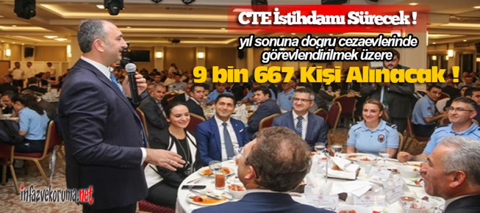 CTE İstihdamı Sürecek, Yıl Sonuna Kadar 9.667 Kişi Daha Alınacak !