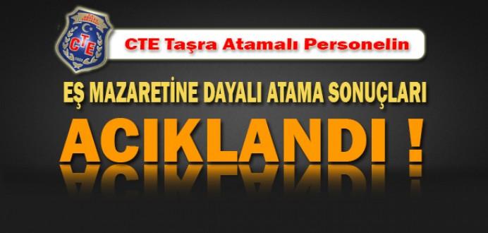CTE Taşra Atamalı Personelin Mazeret Atama Sonuçları Açıklandı !