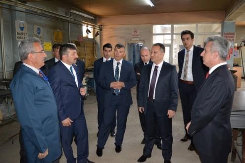 Erzurum E Tipi Ceza İnfaz Kurumu'na Genel Müdür Ziyareti...