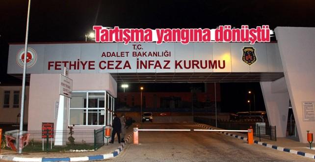 Fethiye T Tipi Kapalı ve Açık Ceza İnfaz Kurumunda Yangın !