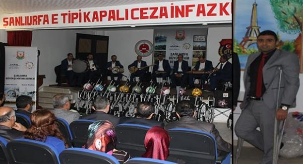 Şanlıurfa E Tipi'nden Engelli Hükümlü/Tutuklulara Umut Olan Proje...