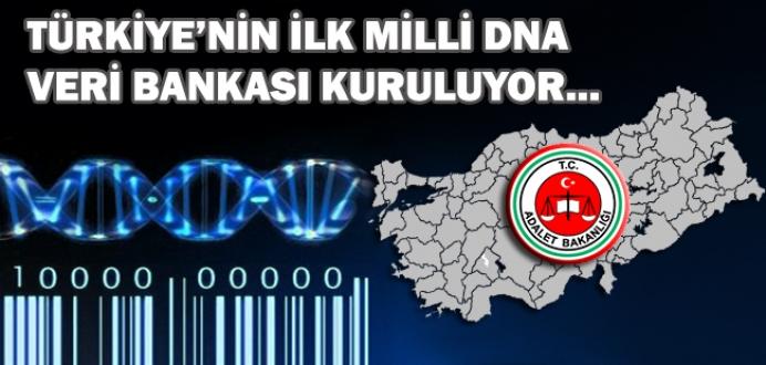 Türkiye'nin İlk Milli DNA Veri Bankası Kuruluyor...