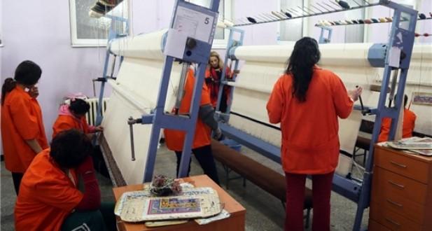 Urfa Cezaevinde Kadın H/Tlar İçin  'Kendi Halını Kendin Doku Projesi' Başlatıldı...
