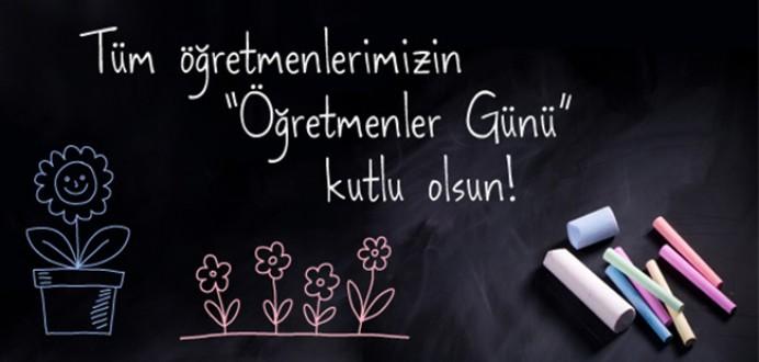 Tüm Öğretmenlerimizin ' Öğretmenler Günü ' Kutlu Olsun !