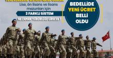 Askerlikte Yeni Sistem Belli Oldu