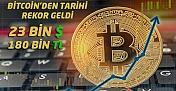 Bitcoin'den Tarihi Rekor !