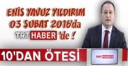 CTE Genel Müdürü Enis Yavuz YILDIRIM, 10'dan Ötesi Konuk Programına Katıldı !