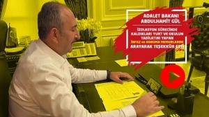 Adalet Bakanı Abdulhamit GÜL, İzolasyondaki İnfaz ve Koruma Memurlarını Arayarak Teşekkür Etti.