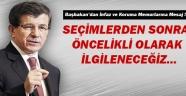 Basbakan Davutoğlu'ndan infaz ve koruma memurlarına mesaj !