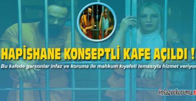 Yalova'da Hapishane Konseptli Kafe Açıldı !
