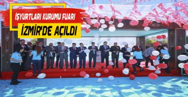 İşyurtları Ürün ve El Sanatları İzmir Fuarı Açıldı