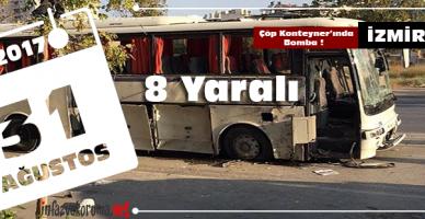 izmir F Tipi Cezaevi Personel Servis Aracına Bombalı Saldırı !